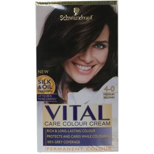 Vital Hair Colourant Medium Brown 4-0