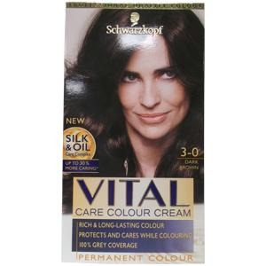 Vital Hair Colourant Dark Brown 3-0