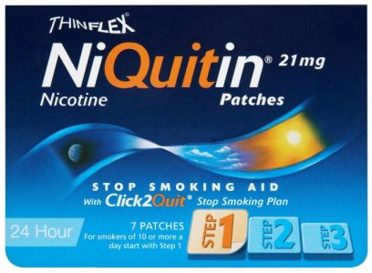 Niquitin 21mg Patches Original Step 1 Pack of 7