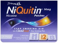 Niquitin 14mg Patches Original Step 2 Pack of 7