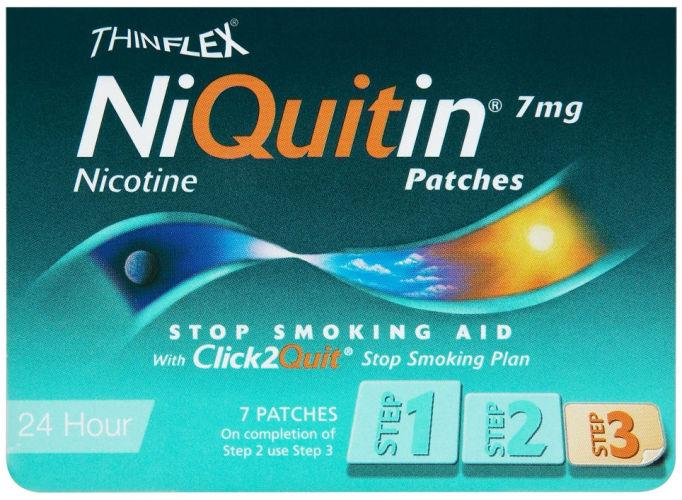 Niquitin 7mg Patches Original Step 3 Pack of 7
