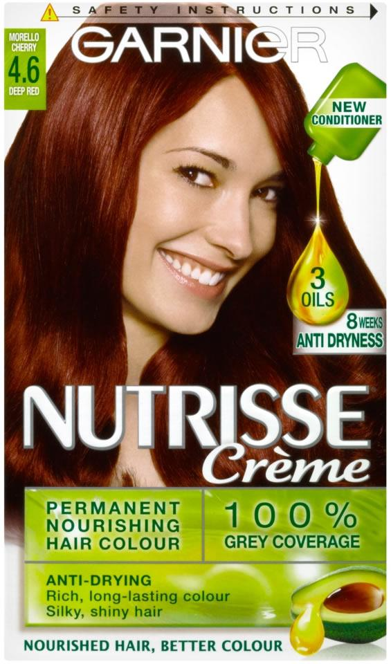 Garnier Nutrisse Creme Morello Cherry Deep Red 4.6