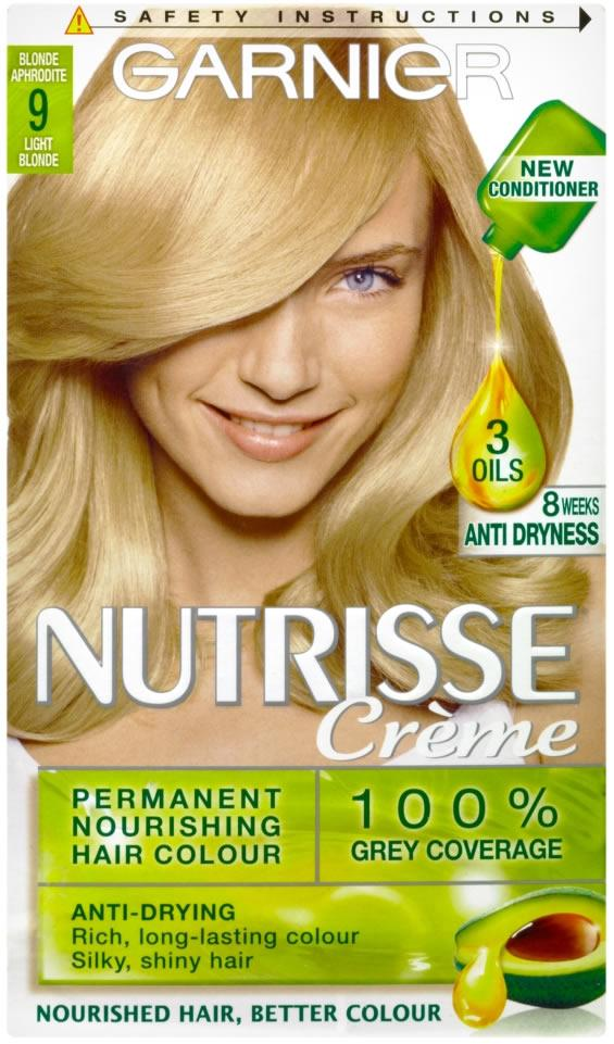 Garnier Nutrisse Creme Blonde Aphrodite Light Blonde 9