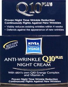Nivea Visage Anti-wrinkle Q10 Repair Night Creme 50ml