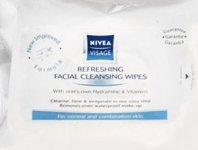 Nivea Visage Cleansing Wipes Normal/combination 25