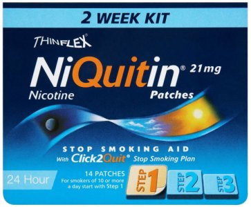 Niquitin 21mg Patches Original Step 1 Pack of 14
