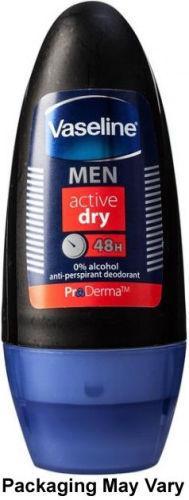 Vaseline Men Active Dry Roll-on Deodorant 50ml