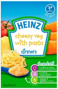Heinz Dinners Cheesy Veg with Pasta 100g