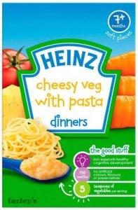 Heinz Dinners Cheesy Veg with Pasta 100g