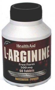HealthAid L-Arginine 500mg Tablets Pack of 60