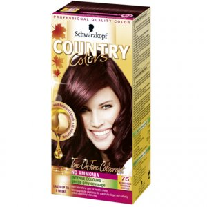 Country Colors Hair Colourant Rouge Noir 75