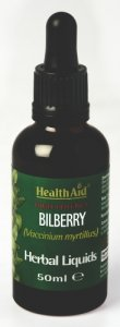 HealthAid Bilberry Liquid 50ml