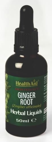HealthAid Ginger Root Liquid 50ml