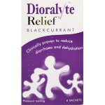 Dioralyte Relief Sachets Blackcurrant Pack of 6