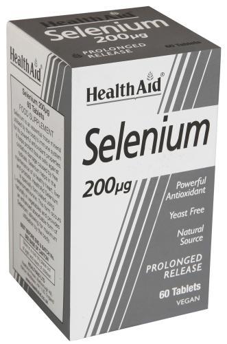 HealthAid Selenium 200mcg Capsules Pack of 60