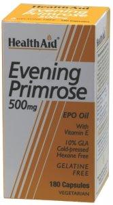 HealthAid Evening Primrose Oil 500mg Capsules Pack of 180