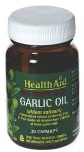 HealthAid Garlic Oil Capsules Pack of 30