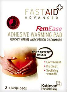 Fastaid Advanced Femease Heat Pads Pack of 2