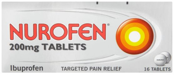Nurofen 200mg Tablets Pack of 16