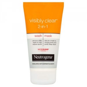 Neutrogena Visibly Clear 2 in 1 Wash Mask 150ml