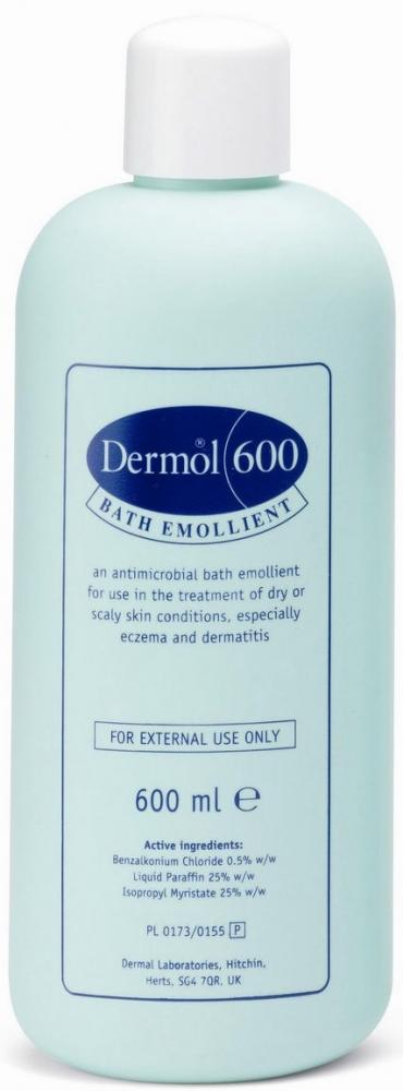 Dermol 600 Bath Emollient 600ml