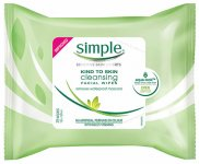 Simple Kind to Skin Cleansing Facial Wipes Pack of 25