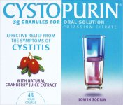 Cystopurin Cranberry Flavoured Granules 3g Pack of 6