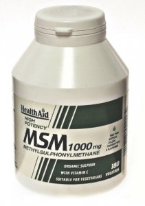 HealthAid MSM 1000mg Tablets Pack of 180