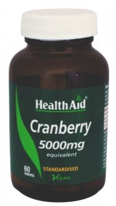 HealthAid Cranberry 5000mg Tablets Pack of 60