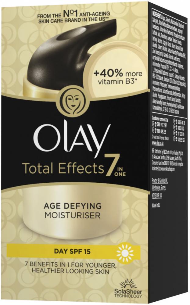 Olay Total Effects Age Defying Moisturiser 50ml