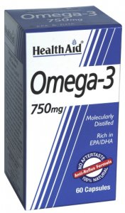 HealthAid Omega 3 750mg Capsules Pack of 60