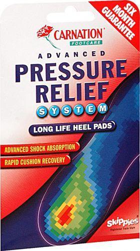 Carnation Advanced Pressure Heel Pads 1 pair