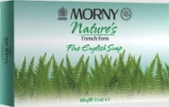 Morny Nature's French Fern Soap 100g Pack of 3
