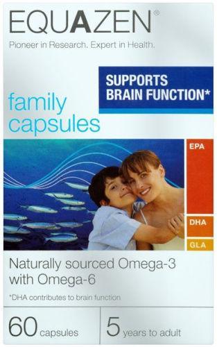 Equazen Family Capsules (formerly Eye Q) Pack of 60