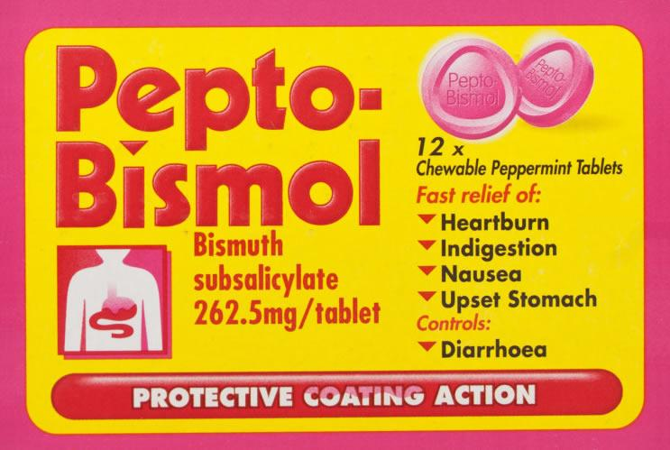 Pepto Bismol Tablets Pack of 12