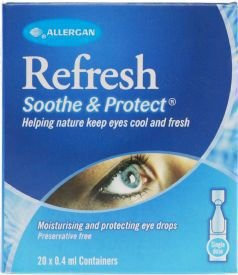 Refresh Soothe & Protect 0.4ml Pack of 20