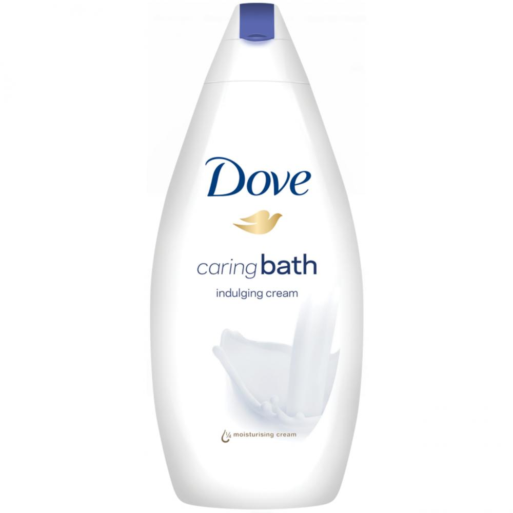 Dove Indulging Cream Caring Bath Original 500ml