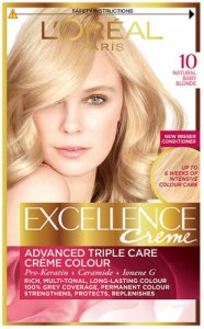 L'Oreal Excellence Creme Natural Baby Blonde 10