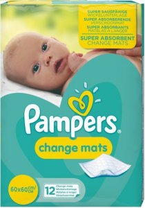 Pampers Change Mats Pack of 12