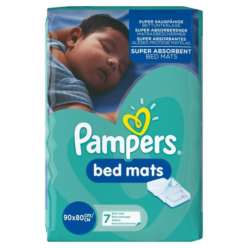 Pampers Bed Mats 90cm x 80cm Pack of 7