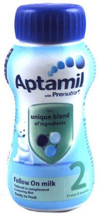 Aptamil Follow-On Stage 2 Milk Ready To Use 200ml