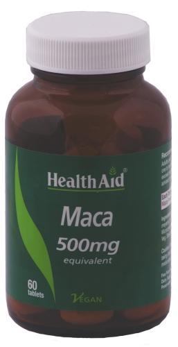 HealthAid Maca 500mg Tablets Pack of 60