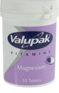 Valupak Magnesium Tablets Pack of 30