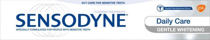 Sensodyne Gentle Whitening Fluoride Toothpaste 75ml