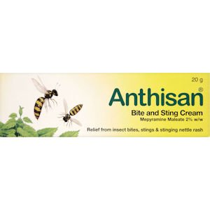 Anthisan Bite & Sting Cream 20g