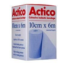 Actico Cohesive Short Stretch Bandage 10cm x 6m
