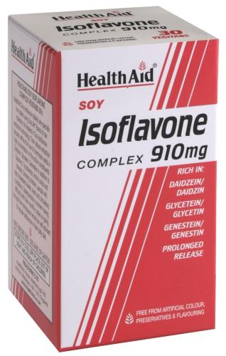 HealthAid Soy Isoflavones Complex 910mg Vegitabs Pack of 60