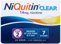 Niquitin 14mg Patches Clear Step 2 Pack of 7