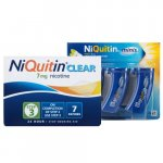 Niquitin Clear Patch Step 3 + Niquitin Minis Pack of 60