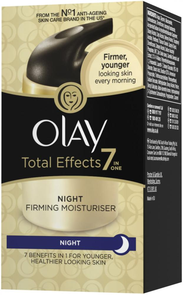 Olay Total Effects Firming Moisturiser Night 50ml